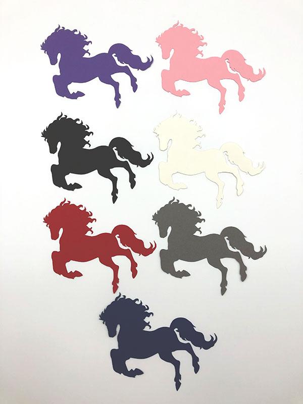 Heste bordkort