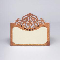 Bordkort til kobberbryllup