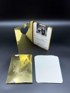 Flotte invitationer til guldbryllup