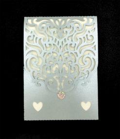 Flotte invitationer til sølvbryllup